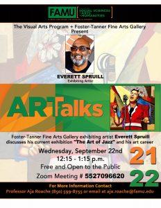 Art Talks with Everett Spruill
