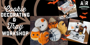 Fall/Halloween Cookie Decorating and DIY Cookie Tr...