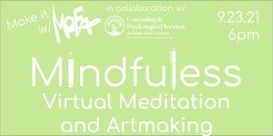 Make it With MoFA: Mindfulness