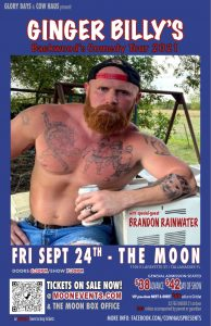 Ginger Billy's Backwoods Comedy Tour at The Moon