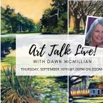 Art Talk Live! With Dawn McMilla