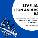 Leon Anderson Band - Live Jazz Concert