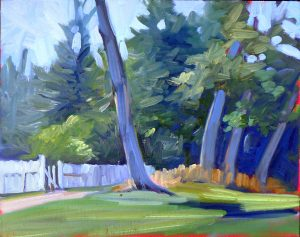 Find your Authentic Voice in Plein Air, with Carol L. Douglas on January 17-21, 2022