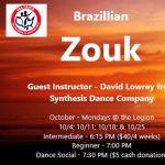 Weekly Dance Lessons - Brazilian Zouk