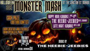 The Heebie-Jeebies Halloween Monster Mash Costumes...