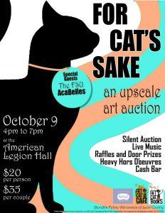 For Cats' Sake Silent Art Auction Fundraiser