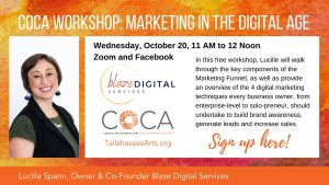 COCA Workshop: Marketing in the Digital Age, with ...