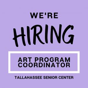 Art Program Coordinator Job Opening at Tallahassee...
