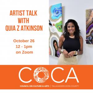 COCA Artist Talk with Quia Z Atkinson