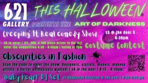 The Art of Darkness: A Halloween Variety Night
