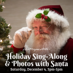 LeMoyne Arts Holiday Sing-along & photos with ...