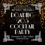 LeMoyne Arts' Roaring 20s Cocktail Party