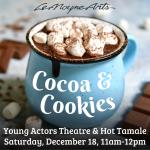 Cookies & Cocoa & LeMoyne Arts