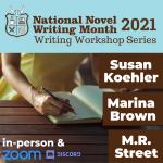 NaNoWriMo Writers Workshop Series