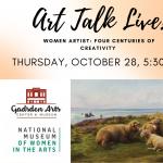 Women Artists: Four Centuries of Creativity—Art Talk Live!